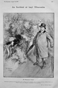 An Incident at (Say) Ilfracombe : The Honeymoon Season. 1907.
