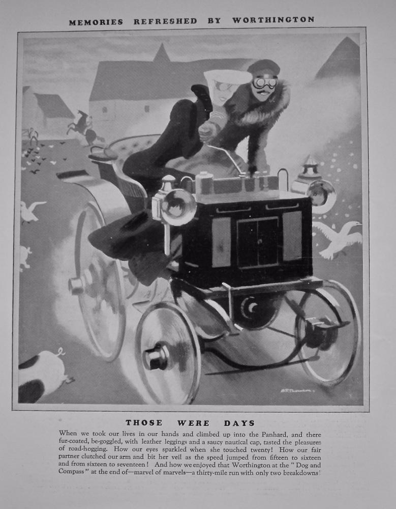 """""""Worthington"""" (Memories refreshed with Worthington)  1928."""
