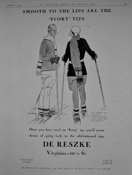 De Reszke. (Cigarettes)  1928.