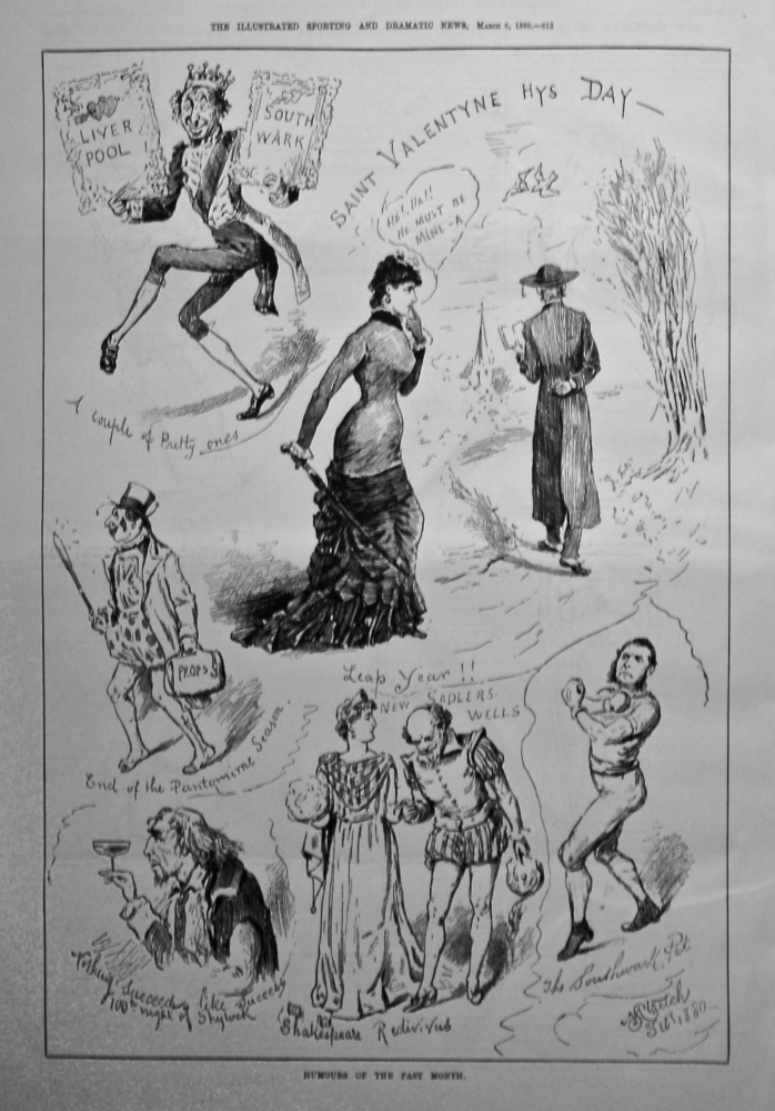 Humours of the Past Month February 1880.
