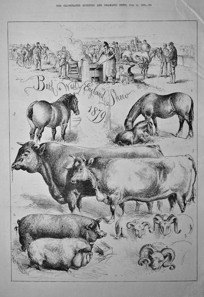 Bath & West of England Show 1879.