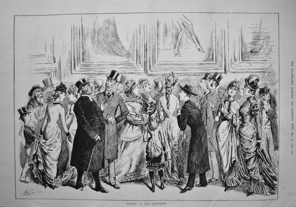 Fashion at the Grosvenor.  1879