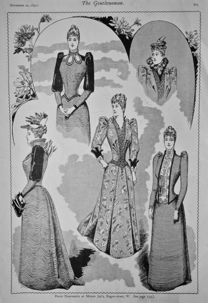 Haute Nouveautes at Maison Jay's, Regent-street, W.  1890.