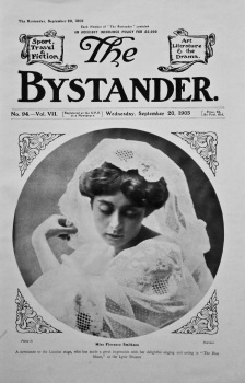 Miss Florence Smithson. (Front Page)  September 20th, 1905.