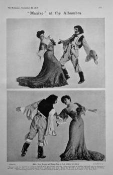 """Maxixe"" at the Alhambra. 1905."