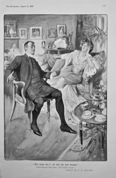 """""""She Found Act I. all that she had dreaded"""".  1905."""