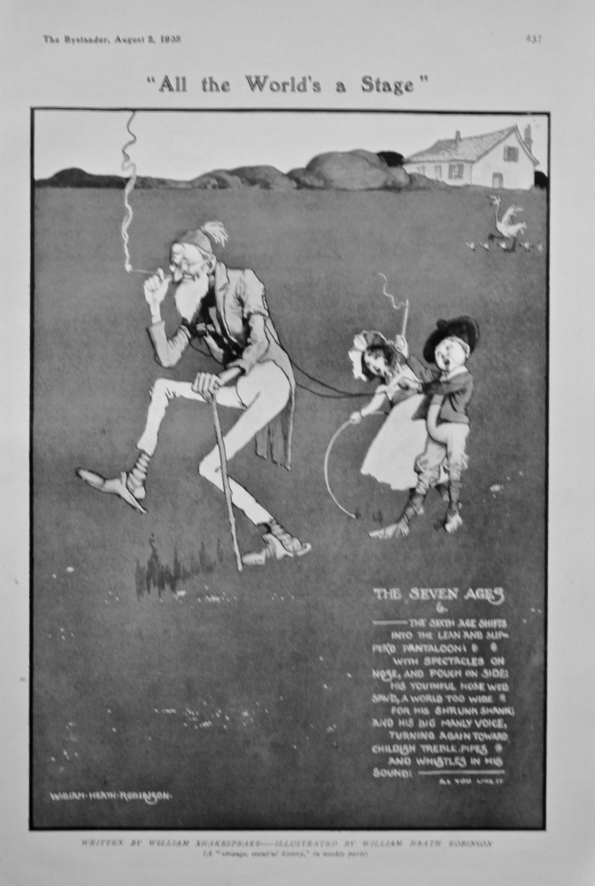 """All the World's a Stage""  1905."