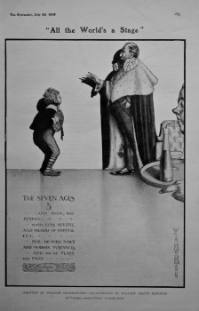"""All the World's a Stage."" 1905."