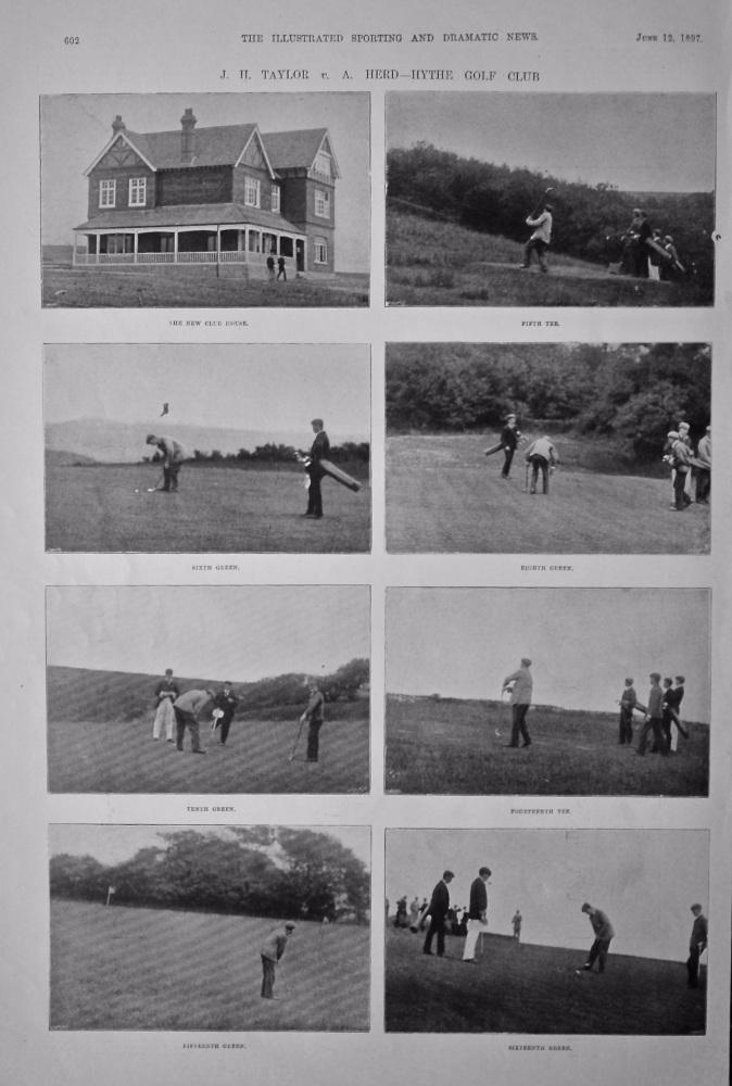 J. H. Taylor  v.  A. Herd - Hythe Golf Club.  1897.