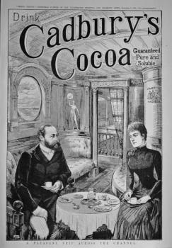 Cadbury's Cocoa.   1885.