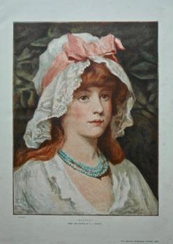 """""""Olivia"""".  1883"""