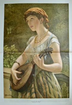 """Songs of Italy.""  1884."