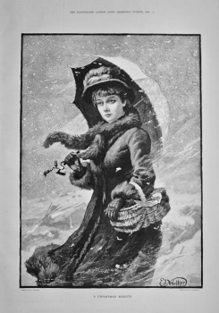 A Christmas Mission.  1884.