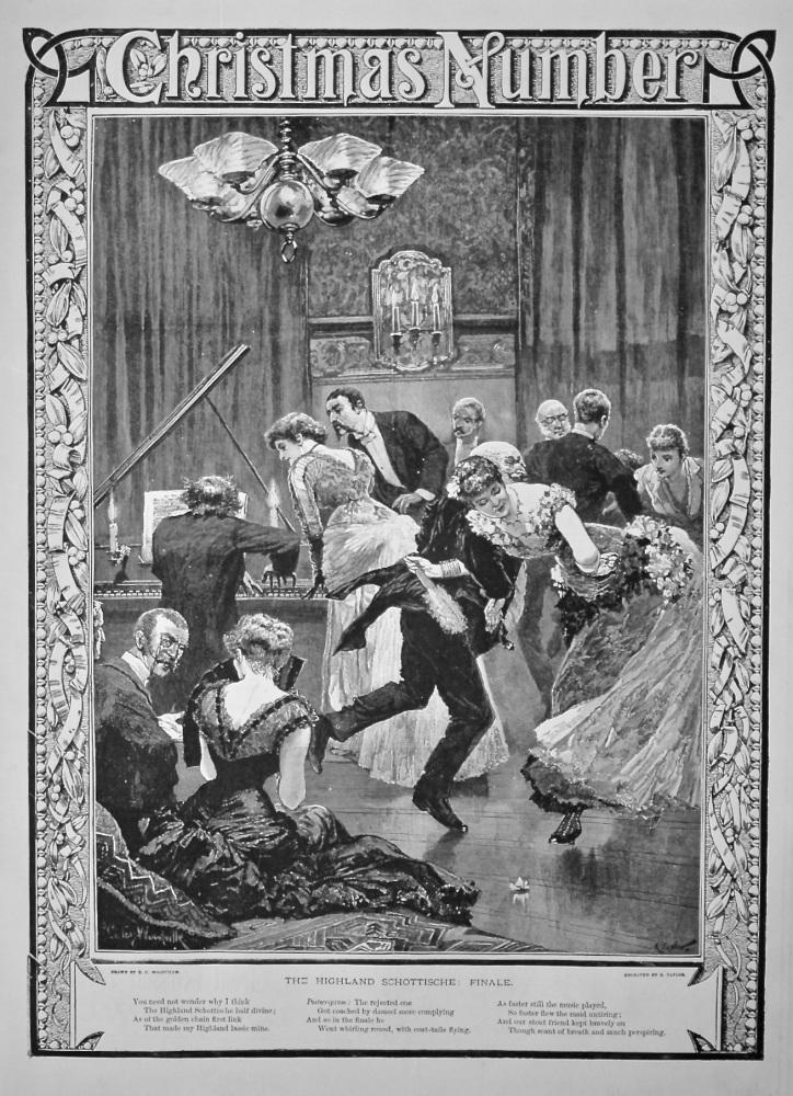 The Highland Schottische : Finale.   1884.