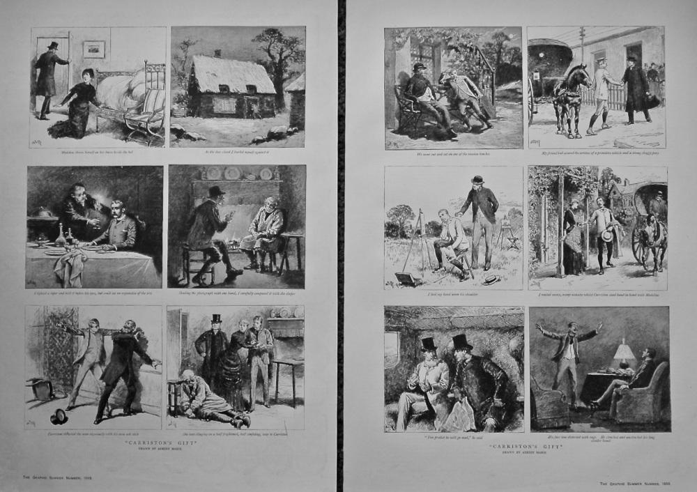 """Carriston's Gift"".  1885."