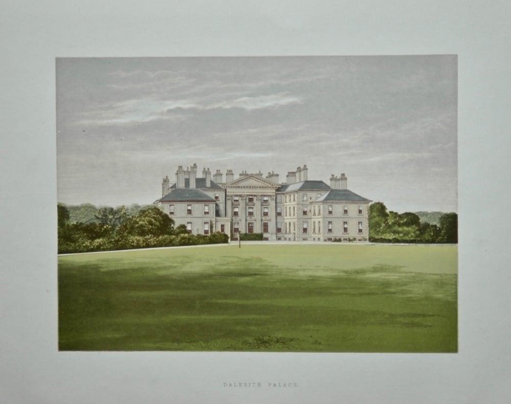 Dalkeith Palace.  1880c.