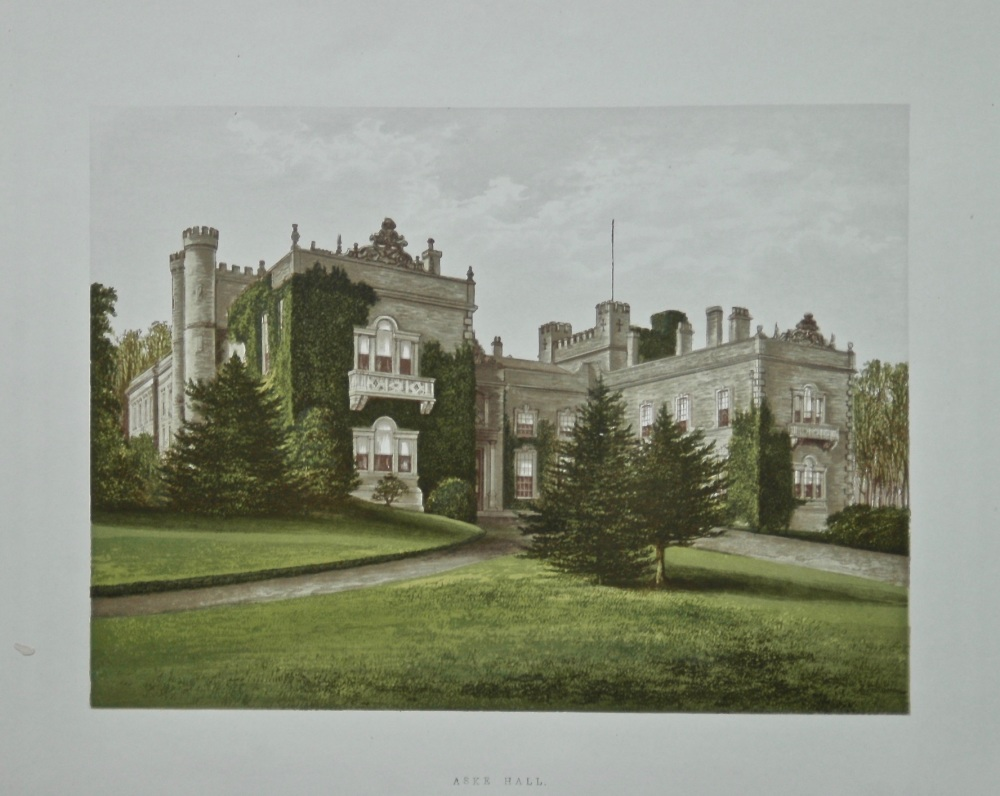 Aske Hall.  1880c.