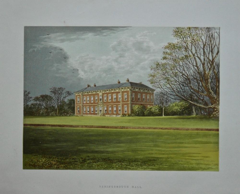 Beningbrough Hall. 1880c.