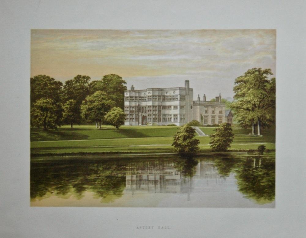 Astley Hall.  1880c.