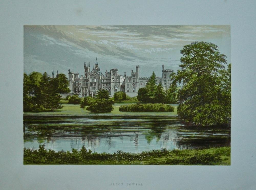 Alton Towers.  1880c.