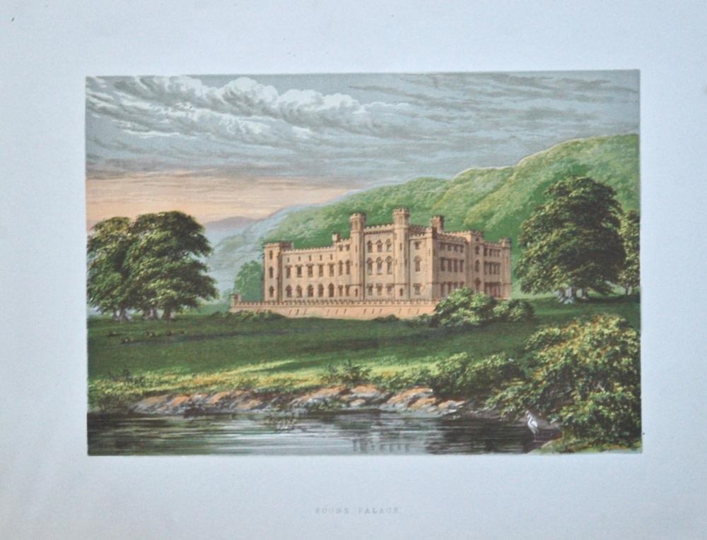 Scone Palace.  1880c.