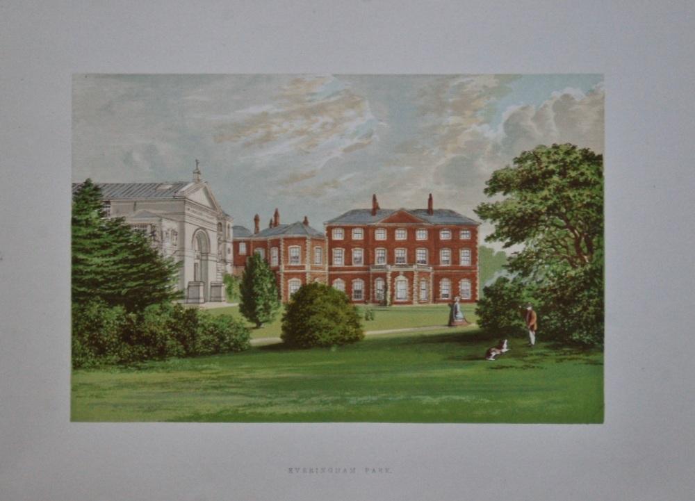 Everingham Park.  1880c.