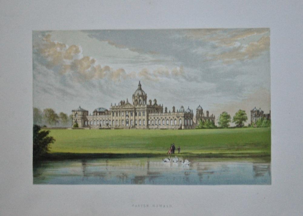 Castle Howard.  1880c.
