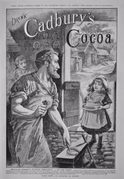 Cadbury's Cocoa.  1886.