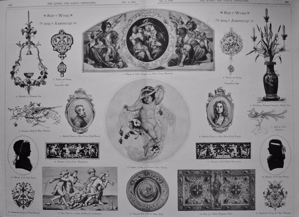 Art Work For Amateurs.  1886.