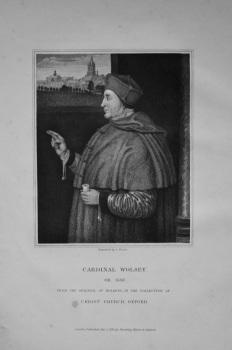 Cardinal Wolsey.  1823.