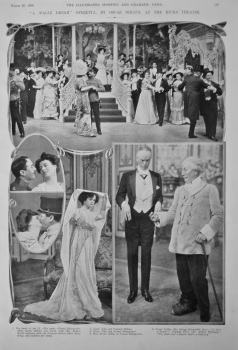 """A Waltz Dream"" Operetta, by Oscar Straus, at the Hicks Theatre.  1908."