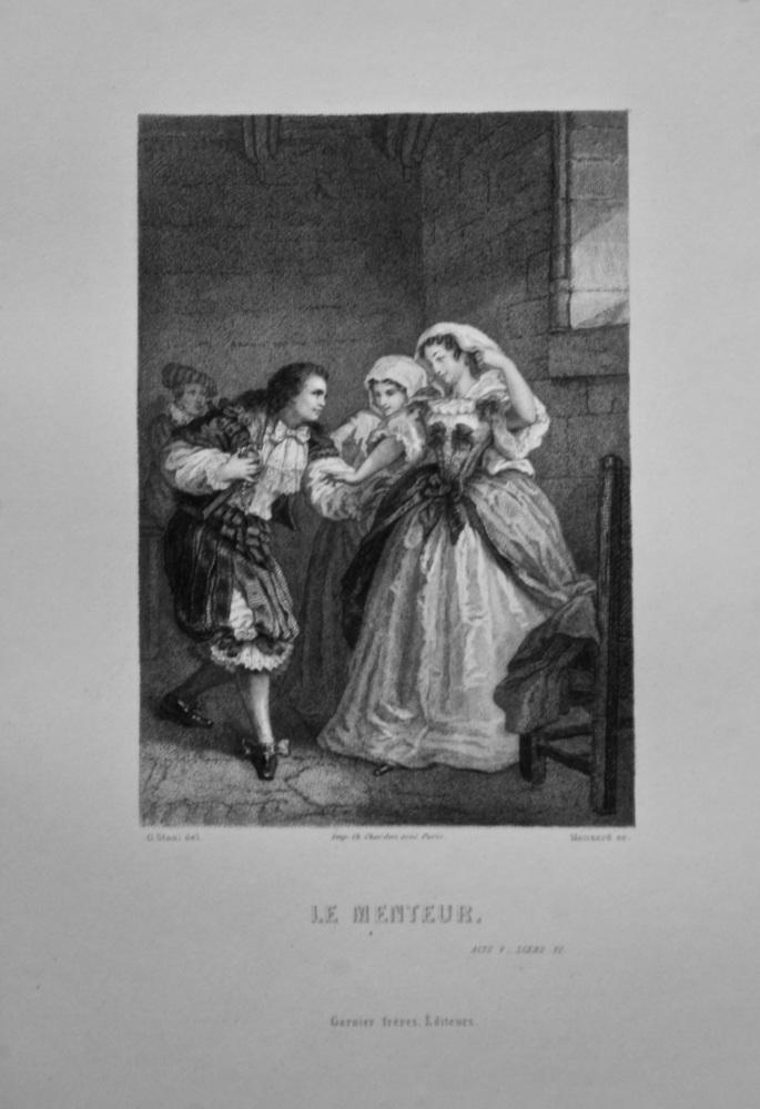 Le Menteur.  1862c.