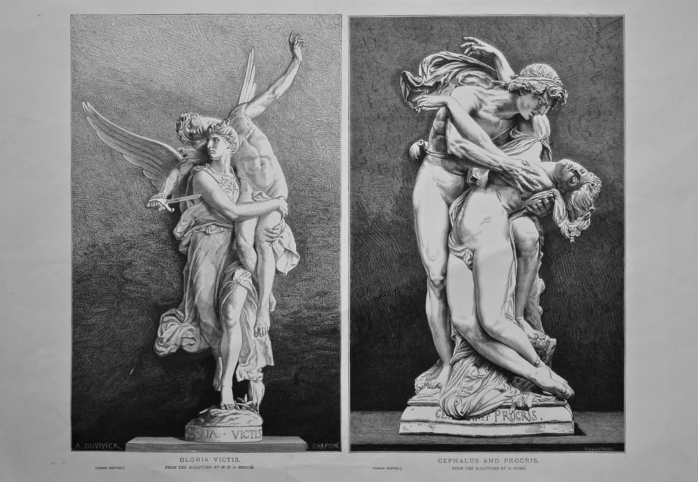 Gloria Victis.    Cephalus and Procris.  1878.