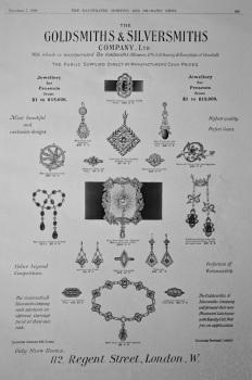 The Goldsmiths and Silversmiths Ltd.  1908.
