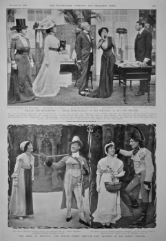 """""""Bellamy the Magnificent,"""" a """"Social Extravaganza,"""" by Roy Horniman, at the New Theatre.  1908."""
