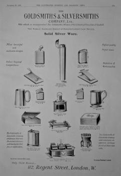 The Goldsmiths & Silversmiths Company, Ltd.  1908.
