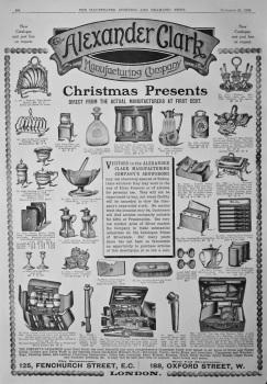 Alexander Clark Manufacturing Company.  1908.