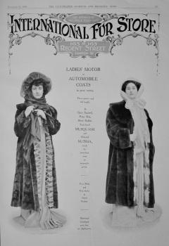 The International Fur Store.  1908.