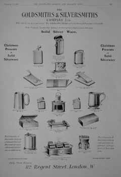 The Goldsmiths & Silversmiths Company. Ltd. 1908.