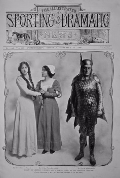 """""""Faust,"""" by Stephen Phillips and J. Comyns Carr, at His Majesty's Theatre.  1908."""