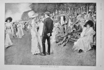 """""""Glorious Goodwood."""" 1908."""