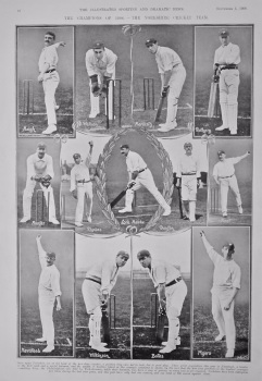 The Champions of 1908. - The Yorkshire Cricket Team.