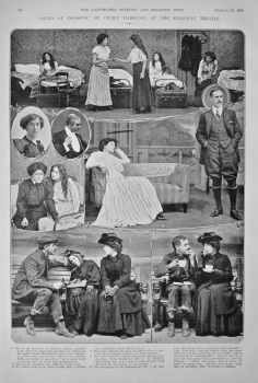 """Diana of Dobson's,"" by Cicely Hamilton, at the Kingsway Theatre.  1908."