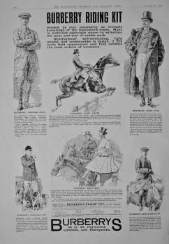 Burberrys.  1908.