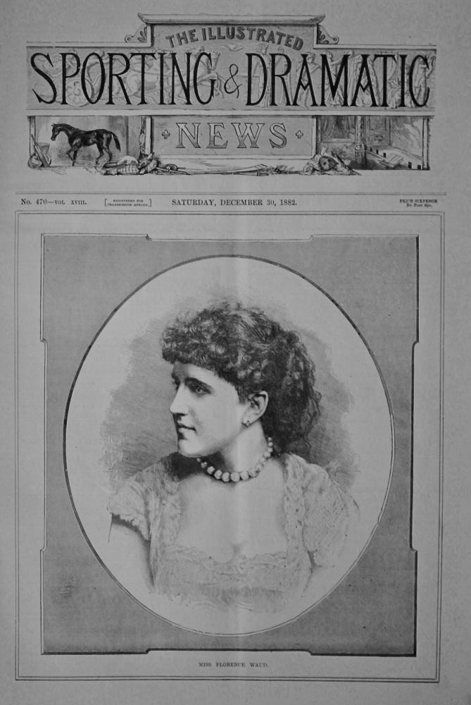 Miss Florence Waud.  1882.