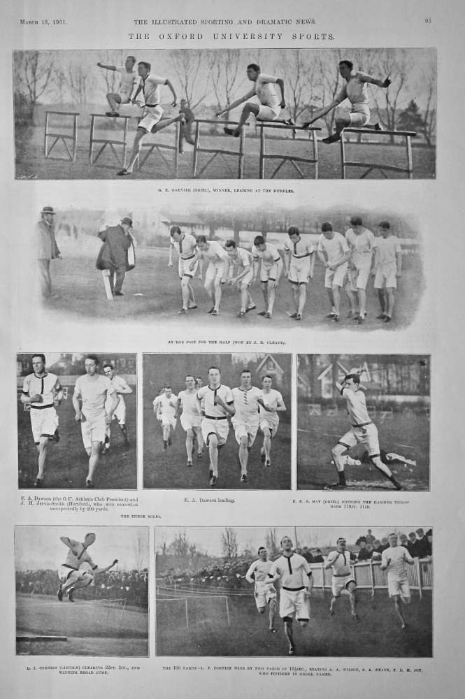 The Oxford University Sports.  1901.