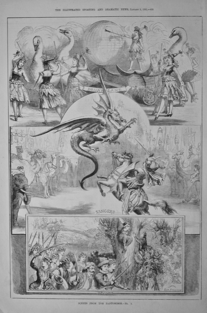 Scenes from the Pantomimes.- No. 2.  1881.