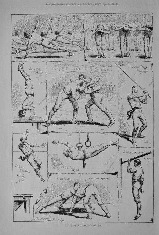 The German Gymnastic Society. 1881.