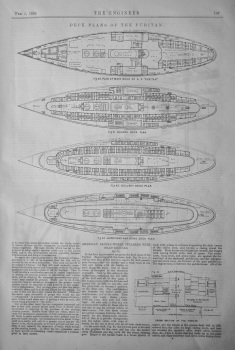 American Paddle-Wheel Steamers with Beam Engines. No.IX.   1899.