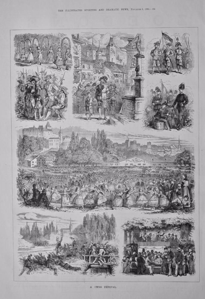 A Swiss Festival.  1880.